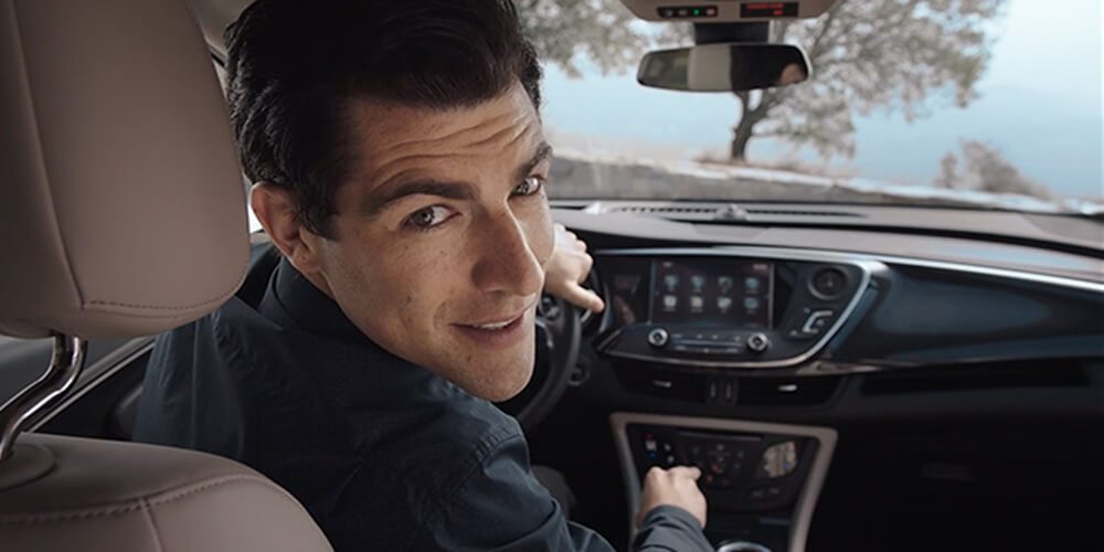 Buick + Max Greenfield